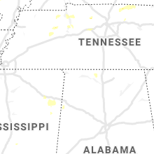 Regional Hail Map for Florence, AL - Friday, October 23, 2020