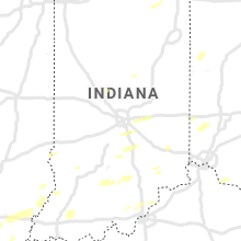 Regional Hail Map for Indianapolis, IN - Friday, October 23, 2020