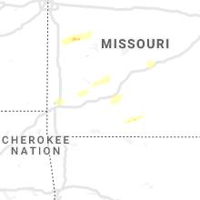 Regional Hail Map for Springfield, MO - Saturday, November 14, 2020