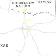 Regional Hail Map for Dallas, TX - Tuesday, November 24, 2020