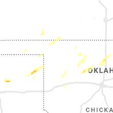 Regional Hail Map for Woodward, OK - Tuesday, November 24, 2020
