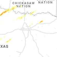 Hail Map for dallas-tx 2021-01-24