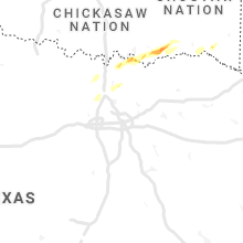 Regional Hail Map for Dallas, TX - Sunday, February 28, 2021
