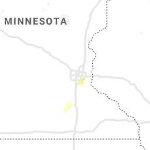 Regional Hail Map for Minneapolis, MN - Wednesday, March 10, 2021