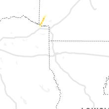 Hail Map for shreveport-la 2021-03-14