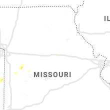 Regional Hail Map for Columbia, MO - Tuesday, March 16, 2021