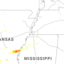 Hail Map for memphis-tn 2021-03-16
