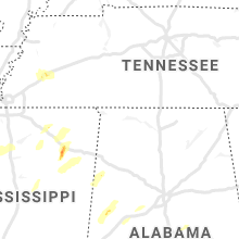 Regional Hail Map for Florence, AL - Wednesday, March 17, 2021