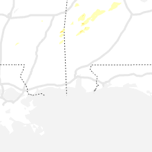Regional Hail Map for Mobile, AL - Wednesday, March 17, 2021