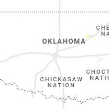 Regional Hail Map for Oklahoma City, OK - Wednesday, March 17, 2021