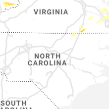 Regional Hail Map for Raleigh, NC - Thursday, March 18, 2021