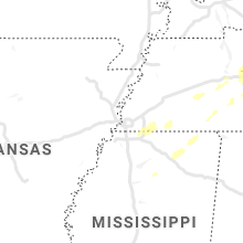 Hail Map for memphis-tn 2021-03-26