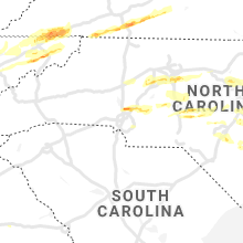 Hail Map for charlotte-nc 2021-03-27