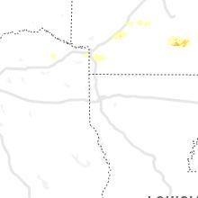 Regional Hail Map for Shreveport, LA - Tuesday, March 30, 2021