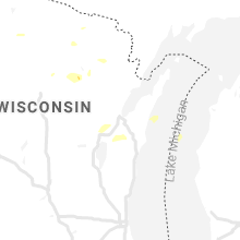 Regional Hail Map for Green Bay, WI - Tuesday, April 6, 2021