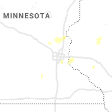 Regional Hail Map for Minneapolis, MN - Tuesday, April 6, 2021
