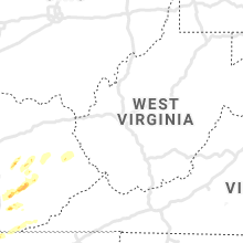 Regional Hail Map for Charleston, WV - Thursday, April 8, 2021