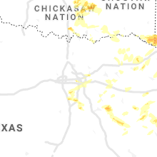 Regional Hail Map for Dallas, TX - Friday, April 9, 2021