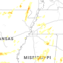 Hail Map for memphis-tn 2021-04-09
