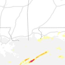 Regional Hail Map for Mobile, AL - Saturday, April 10, 2021