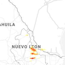 Hail Map for laredo-tx 2021-04-16