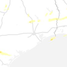 Regional Hail Map for Houston, TX - Friday, April 23, 2021