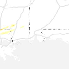 Regional Hail Map for Mobile, AL - Friday, April 23, 2021