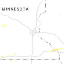 Regional Hail Map for Minneapolis, MN - Monday, April 26, 2021