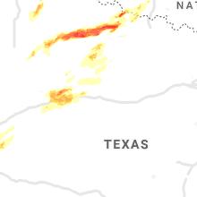 Hail Map for abilene-tx 2021-04-27
