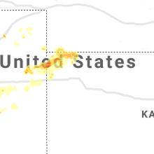Regional Hail Map for Colby, KS - Tuesday, April 27, 2021
