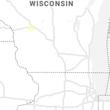 Regional Hail Map for Madison, WI - Tuesday, April 27, 2021