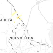 Regional Hail Map for Laredo, TX - Saturday, May 1, 2021