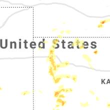 Regional Hail Map for Colby, KS - Sunday, May 2, 2021
