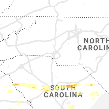 Regional Hail Map for Charlotte, NC - Monday, May 3, 2021