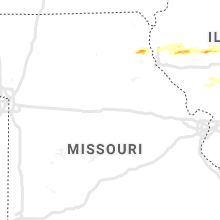 Regional Hail Map for Columbia, MO - Monday, May 3, 2021