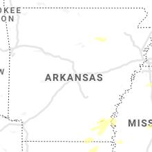 Hail Map for little-rock-ar 2021-05-04