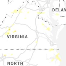 Regional Hail Map for Richmond, VA - Tuesday, May 4, 2021