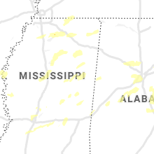 Regional Hail Map for Starkville, MS - Tuesday, May 4, 2021