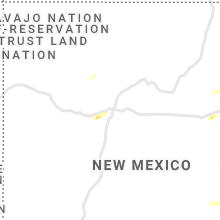Regional Hail Map for Albuquerque, NM - Friday, May 7, 2021