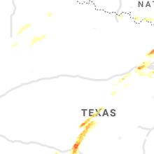 Hail Map for abilene-tx 2021-05-10
