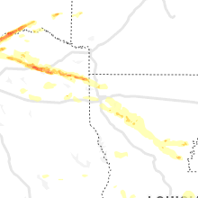 Regional Hail Map for Shreveport, LA - Monday, May 10, 2021