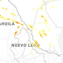 Regional Hail Map for Laredo, TX - Tuesday, May 11, 2021