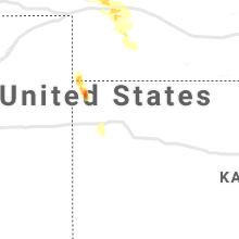 Regional Hail Map for Colby, KS - Thursday, May 13, 2021