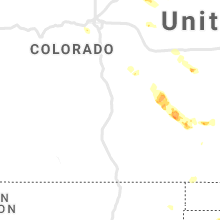 Regional Hail Map for Pueblo, CO - Friday, May 14, 2021
