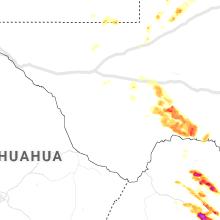 Regional Hail Map for Alpine, TX - Saturday, May 15, 2021
