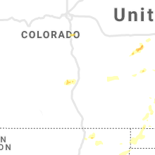Regional Hail Map for Pueblo, CO - Saturday, May 15, 2021