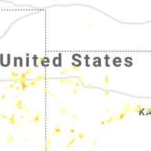 Regional Hail Map for Colby, KS - Sunday, May 16, 2021