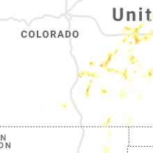 Regional Hail Map for Pueblo, CO - Sunday, May 16, 2021