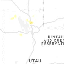 Regional Hail Map for Salt Lake City, UT - Sunday, May 16, 2021
