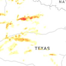 Hail Map for abilene-tx 2021-05-17